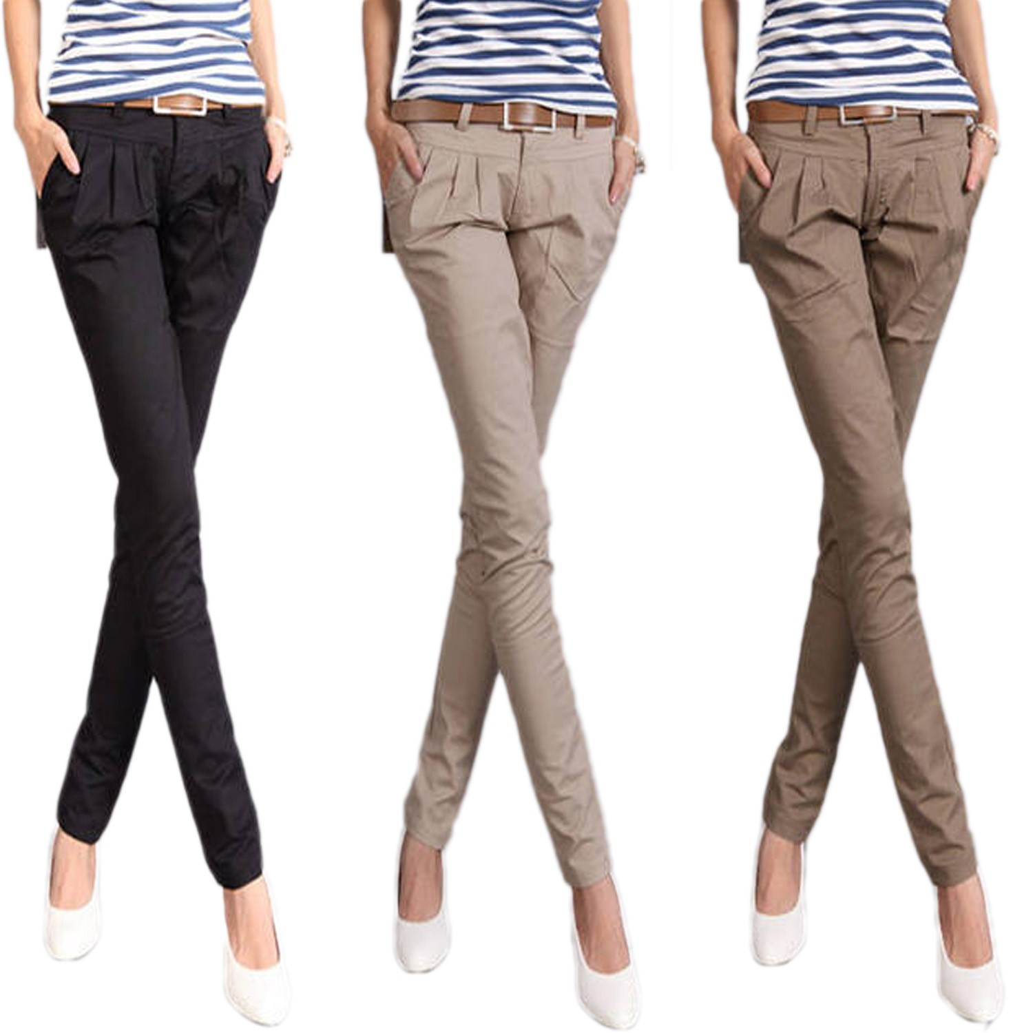 Comfortable Chinos in casual sytles and trendy colours: you'll find a plethora of Chinos for the office & leisure at the Esprit Online Shop.