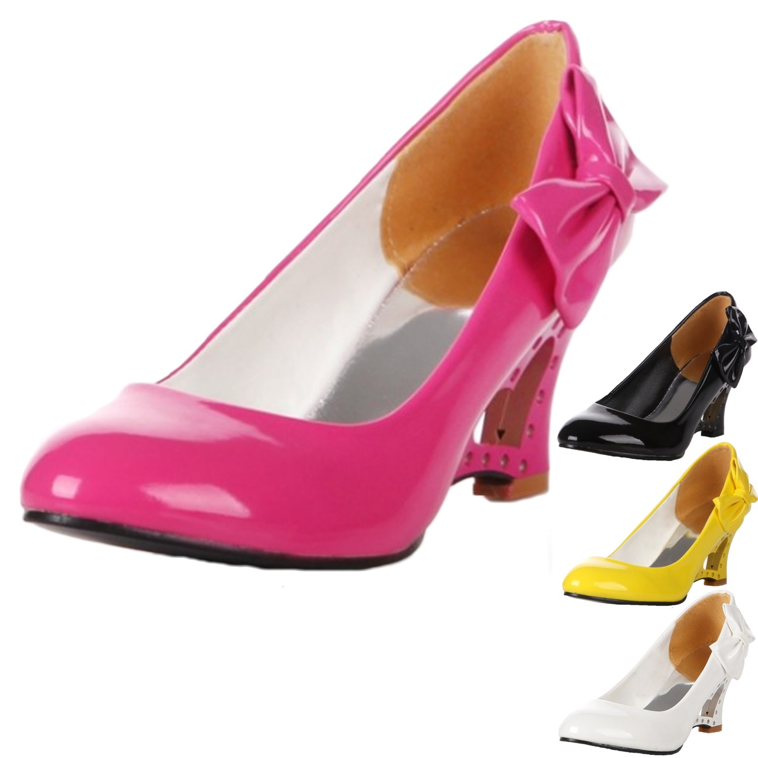 sommer damen schuhe high heels pumps wedges sexy keilabsatz partyschuhe shoes ebay. Black Bedroom Furniture Sets. Home Design Ideas